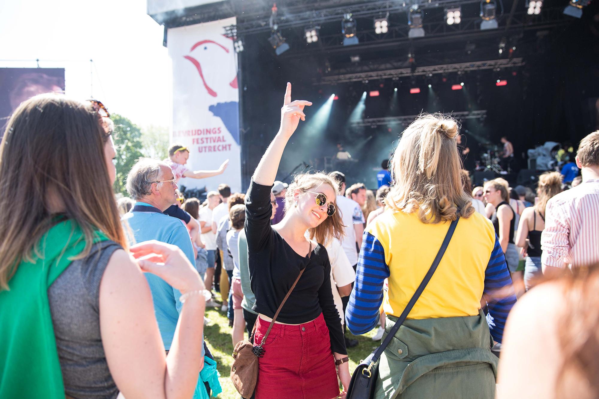 Fotografie KEES cultuurvrijwilligers beeldbank bevrijdingsfestival Utrecht